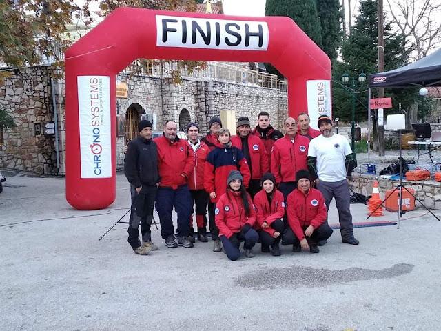 Η Ελληνική Ομάδα Διάσωσης Αργολίδας είχε την υγειονομική κάλυψη του 4ου Αγώνα Αρτεμισίου Όρους.