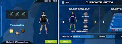 3D Badminton Chalenge