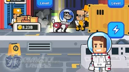 Rocket Star - Idle Space Factory: Dog Booster
