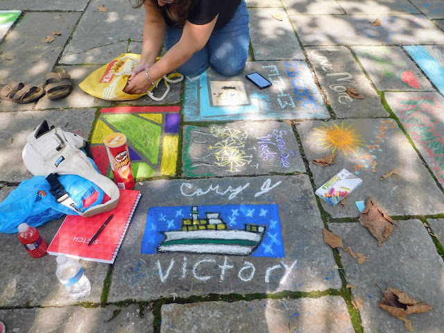Another CLE Chalk Festival is Dust in the Wind {photos}