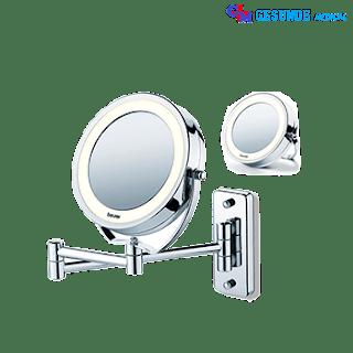 Cermin Rias Dilengkapi Cahaya Lampu LED