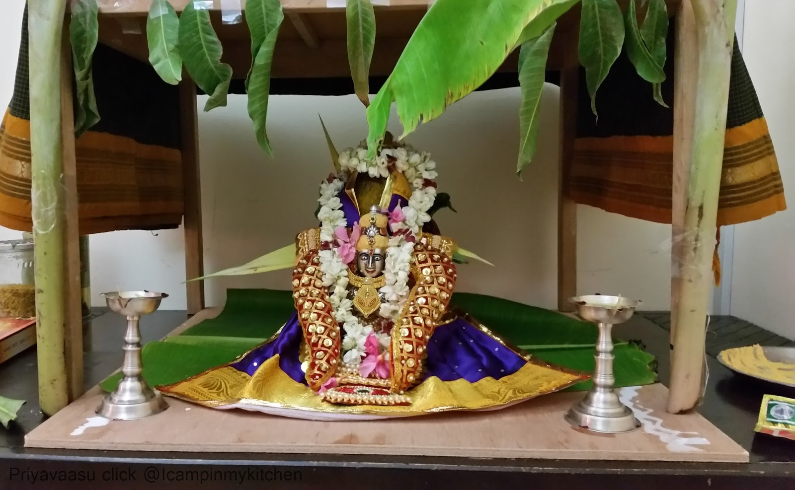 Varalakshmi Vratham & Navrathri Kalasam Jodanai/Decoration