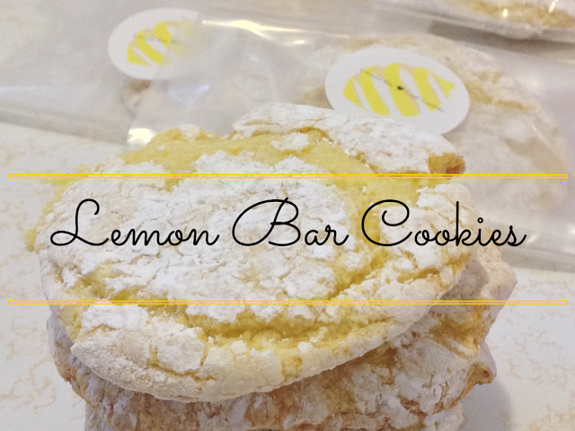 Lemony Cool Lemon Bar Cookies + a printable