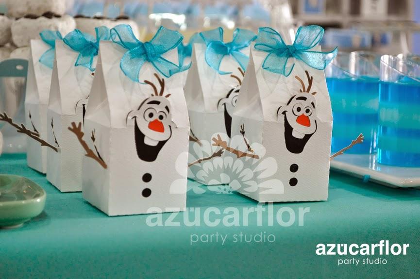 AZUCAR FLOR party studio Frozen Leila
