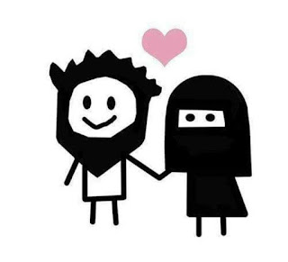 Cute Islamic Couple Cartoon Images HD