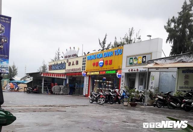 Cận cảnh 'phố người Trung Quốc' cận kề Sân bay Nước Mặn Đà Nẵng 4