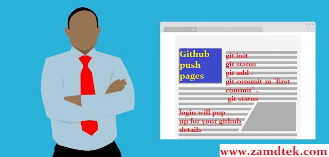 How to create github gh pages for website hosting in 2019