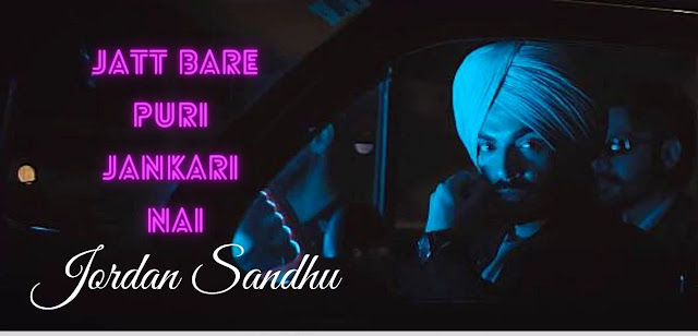 Info Lyrics In Hindi Jordan Sandhu