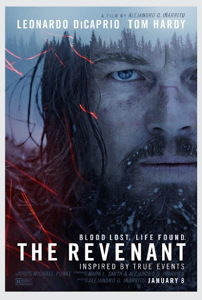 Poster Of The Revenant 2015 480p English DVDScr Full Movie Download