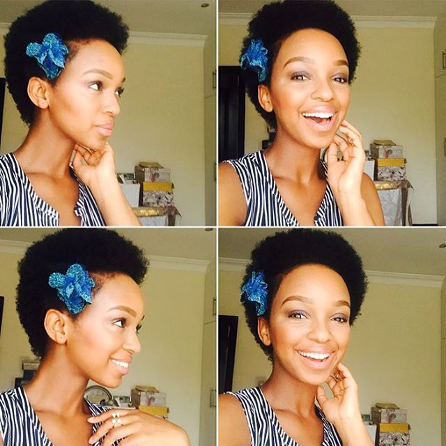 Nandi Mngoma In Latest Photos Natural Hair The Edge Search