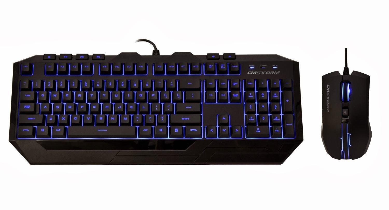 Top Cm Storm Devastator Led Gaming Keyboard And Mouse