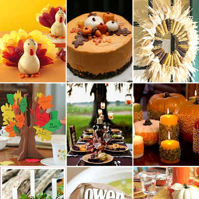 Last Minute Thanksgiving Party & DIY Ideas