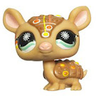 Littlest Pet Shop Postcard Pets Armadillo (#1007) Pet