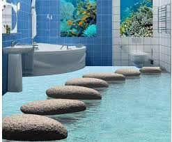 اجعل بيتك ينبض بالحياة make you home a life  تقنية ثلاثي الأبعاد الأرضيات 3d floor