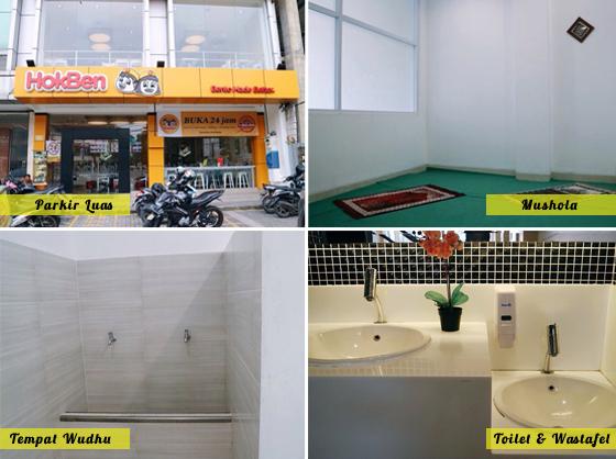 Fasilitas HokBen Tangerang Kota