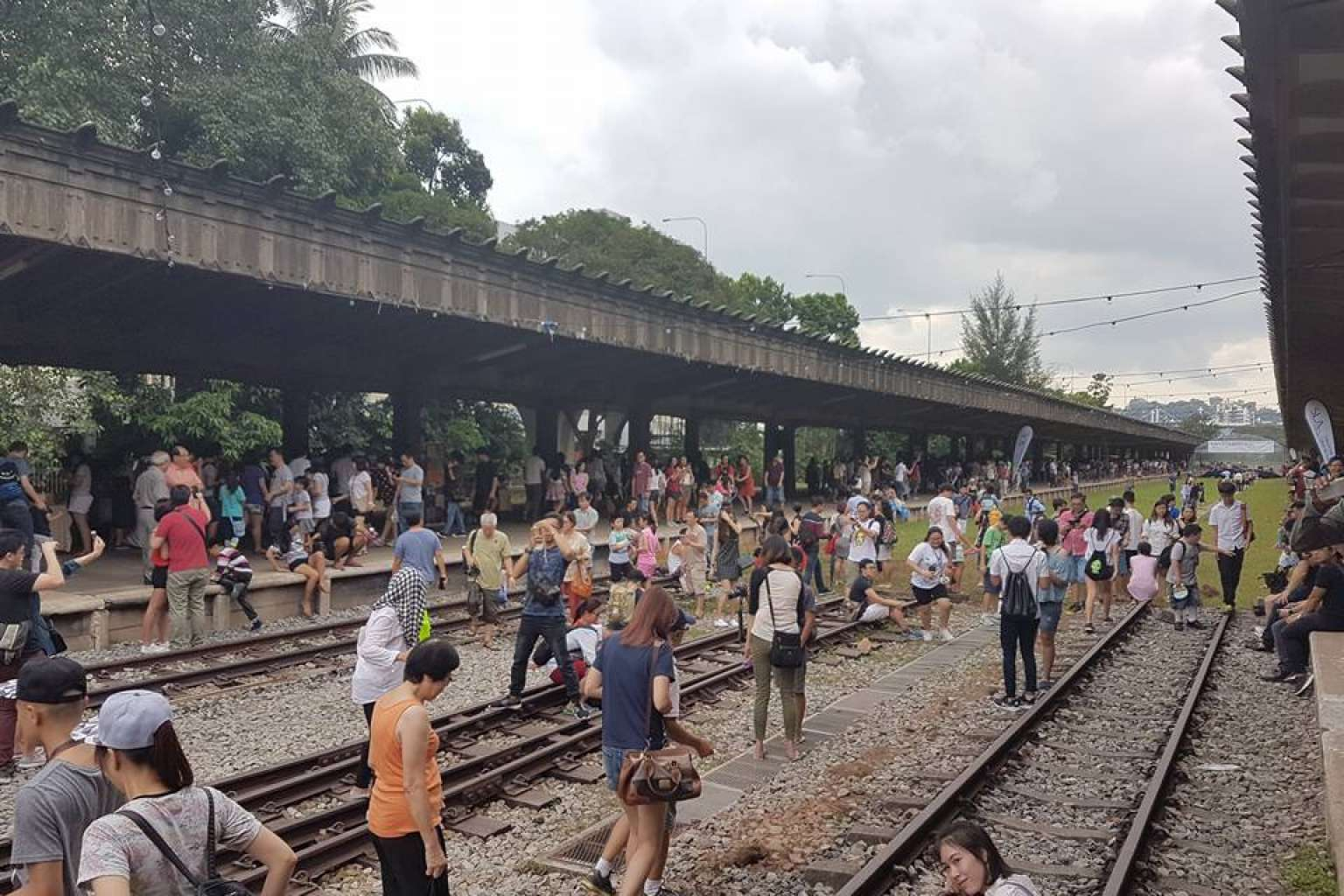More than 30,000 people turned up to say farewell to the Tanjong Pagar Railway Station on Christmas.