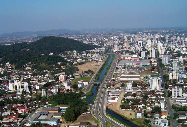3- Joinville (SC): 560.000