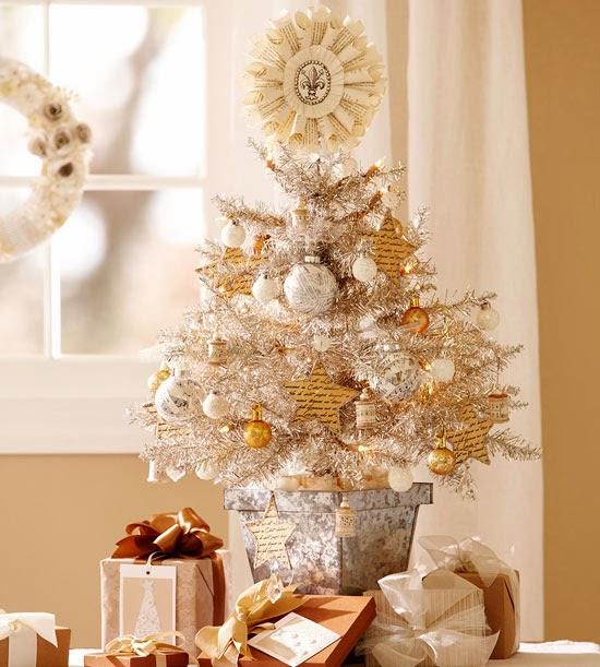 Fotos de rboles de navidad peque os colores en casa - Fotos arboles navidenos ...
