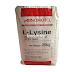L – Lysine C6H14N2O2HCI