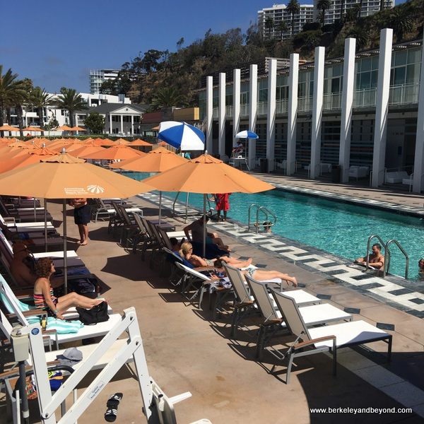 pool at Annenberg Community Beach House in Santa Monica, California
