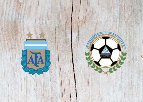 Argentina vs Nicaragua - Highlights 8 June 2019