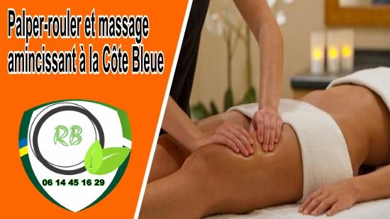 Palper-rouler et massage amincissant à la Côte Bleue;