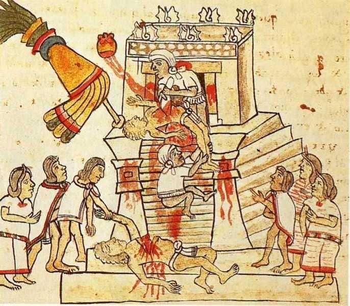Epic World History Human Sacrifice And The Aztecs