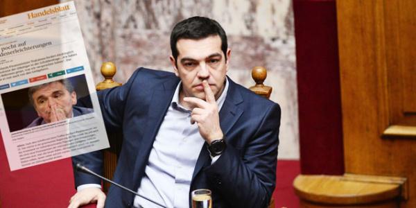 Αποκάλυψη Handelsblatt: Μεγάλη πολιτική ήττα Τσίπρα - Η Ελλάδα δεν θα πάρει καλύτερη λύση για το χρέος