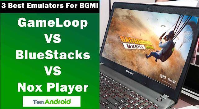 Top 3 Best Emulators for Battlegrounds Mobile India on PCs   Best EmulatorsNox Player
