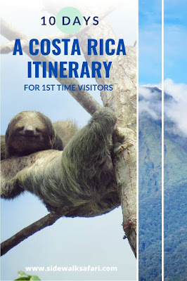 10 Day Costa Rica Itinerary for first time visitors