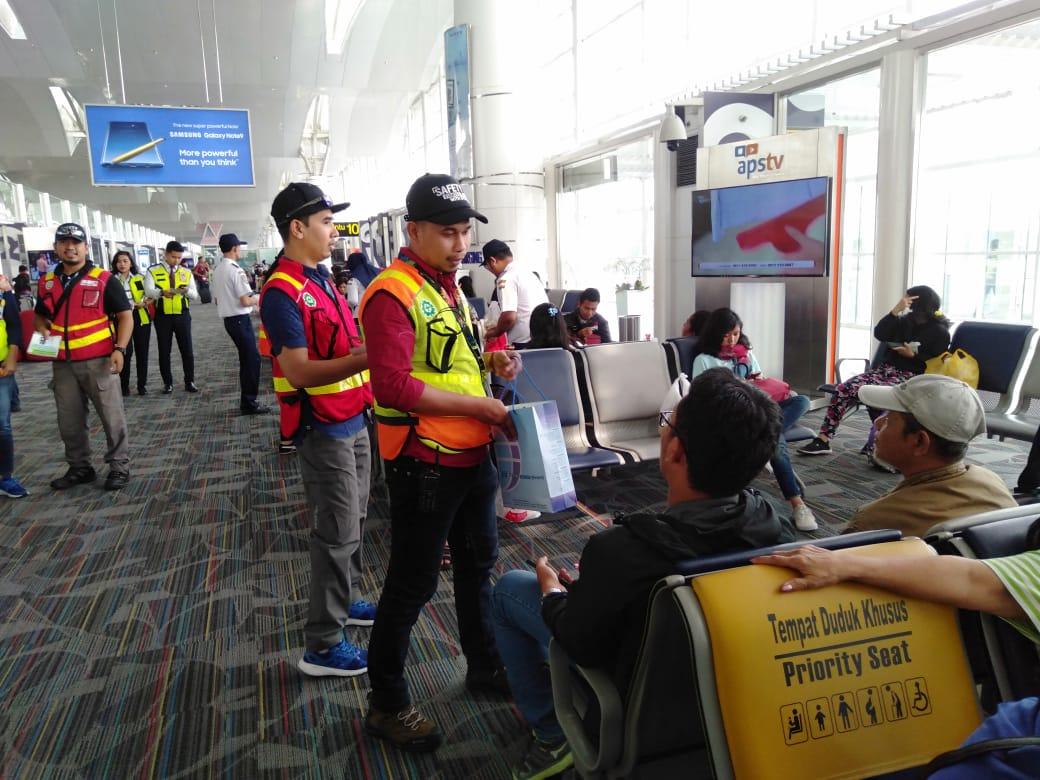 Manajemen Bandara Kualanamu Gelar Safety Campaign