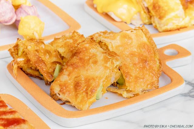 MG 7299 - 熱血採訪│台中人氣炭烤吐司,多達18種口味任你挑!還有18款酥皮蛋餅,連日式炸蝦都被包進來啦!