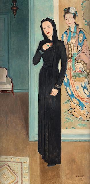 1943. Einar Jolin - Lady in Black