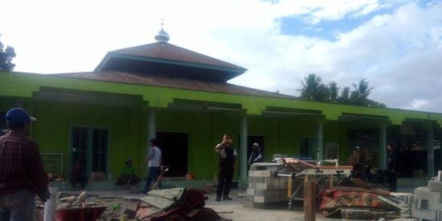 Subhanallah! Terjangan Tsunami Hanya Lewat di Atas Kubah Masjid Ini