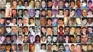 The 96 Hillsborough victims