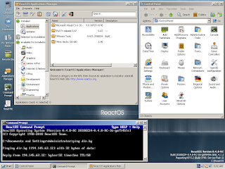 ReactOS's Desktop