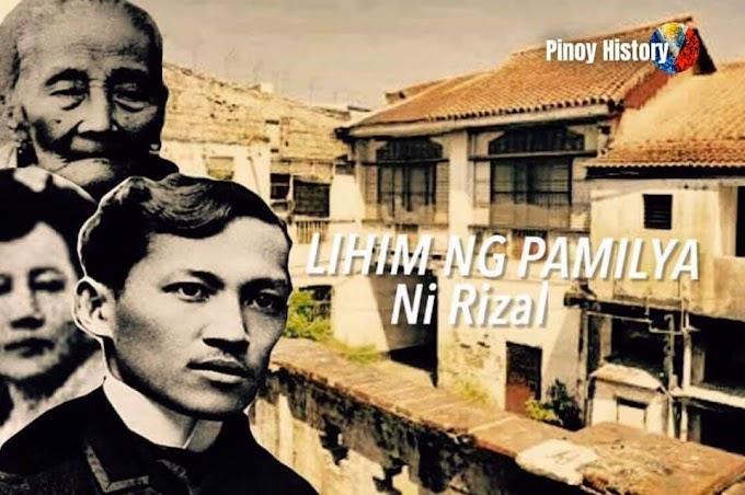 Ang lihim ng pamilya ni Jose Rizal