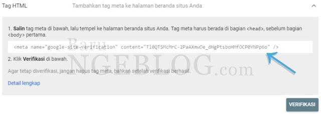 Cara Mudah Mendaftarkan Blog ke Google Search Console beserta Fungsinya