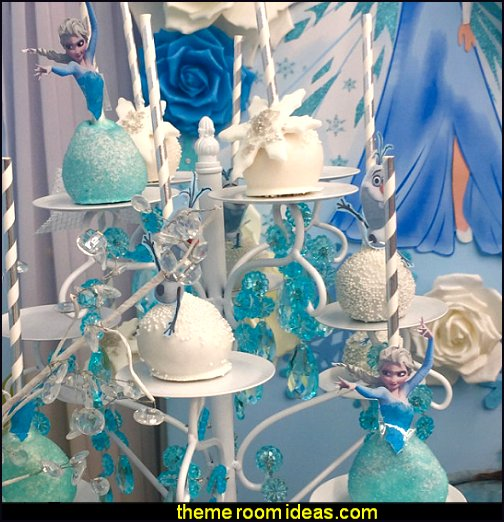 Disney Frozen ELSA Cake Pop Toppers, Cupcake Toppers