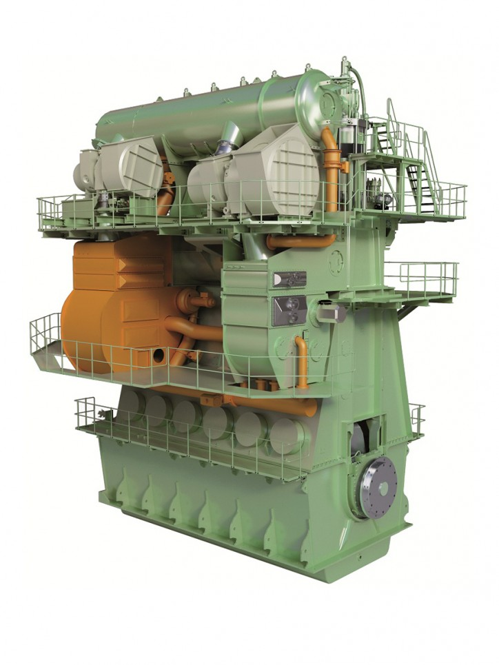 MAN Diesel & Turbo Delivers World's First IMO-Certified Two-Stroke Engine
