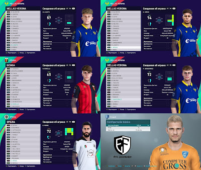 PES 2021 Facepack Serie A Vol 3