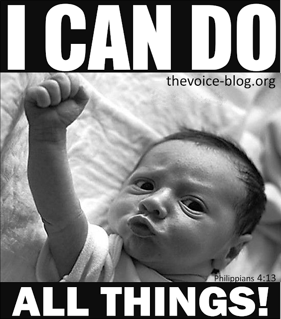 I CAN DO ALL THINGS! QUOTE