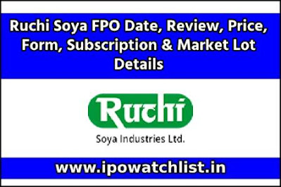 Ruchi Soya FPO