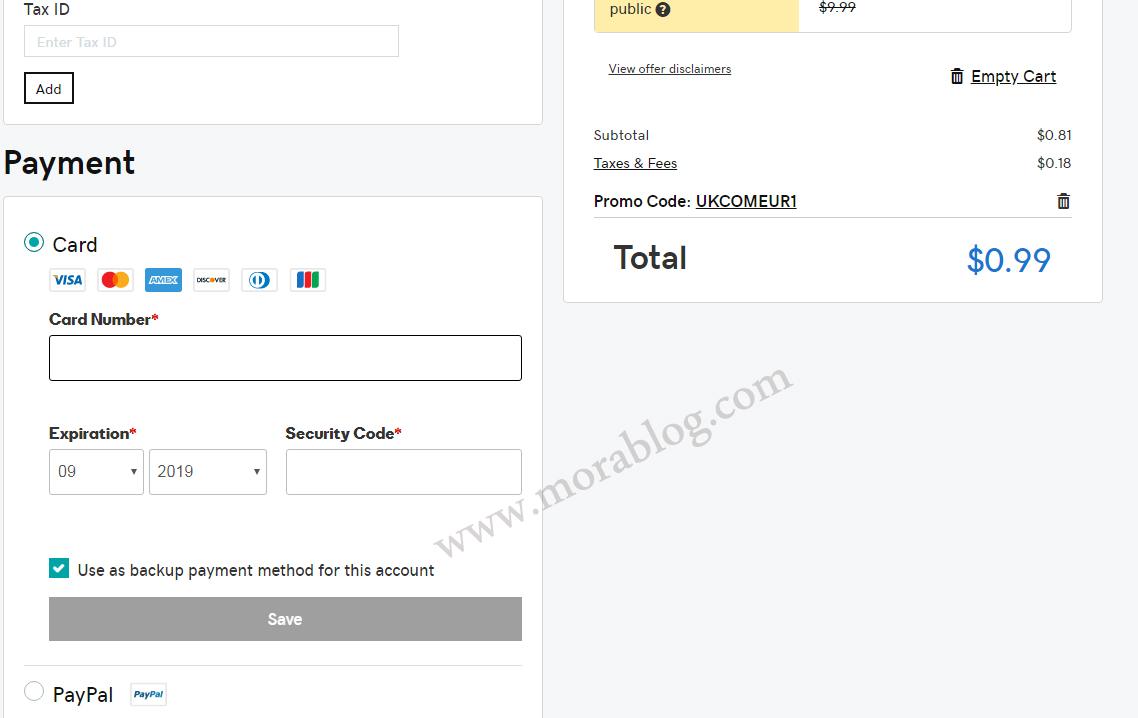 شرح حجز دومين جودادي بواحد دولار بعد تحديث الاسعار