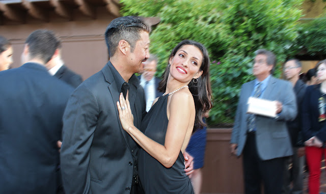 Actors Brian Tee and wife Mirelle Taylor ©GeorgeLeon/filmcastlive