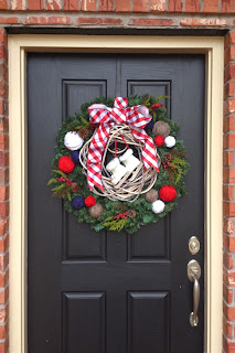 Holiday Wreath {Windgate Lane}