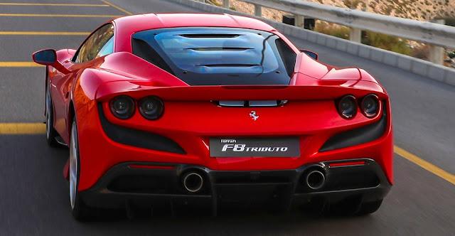 フェラーリF8トリブート デザイン画像