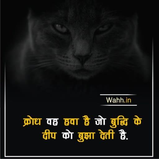Angry Hindi Thoughts