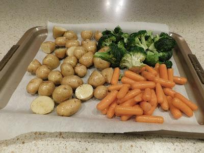 Vegetables on Sheet Pan