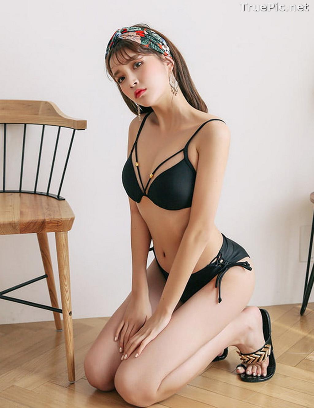 Image Korean Fashion Model - Cha Yoo Jin - Rebecca Monokini - TruePic.net - Picture-9